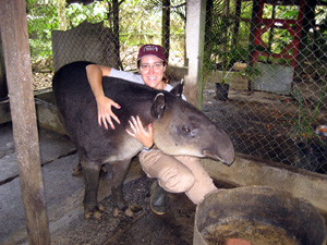 Maggie and Tapir